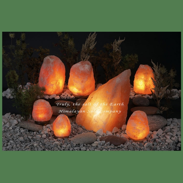 Himalayan Salt Lamp Natural Pink Jumbo II (60-77 lbs each)