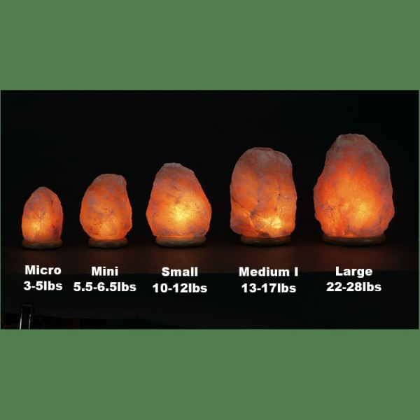 Himalayan Salt Lamp Natural Pink Medium I (13-17 lbs each)