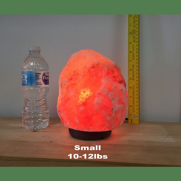 Himalayan Salt Lamp Natural Pink Medium I 4 units (13-17 lbs each)