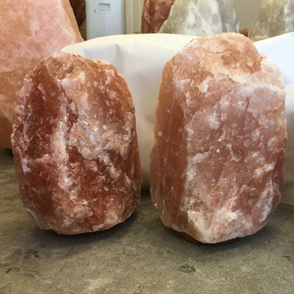 Himalayan Salt Lamp Natural Pink Jumbo I (44-55 lbs each)