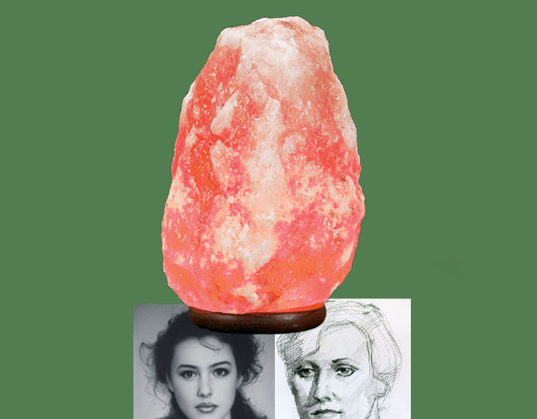 Himalayan Salt Lamp for Protection