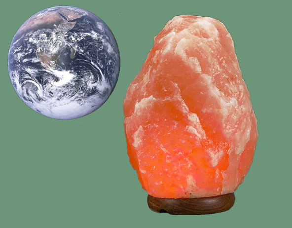 Do Himalayan Salt Lamps work in Planetary Consciousness?