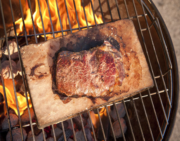 The origin of Himalayan Salt Block Grilling