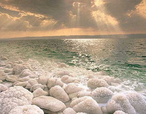 Natural Salt Deposits- Rock salt and Crystal salt