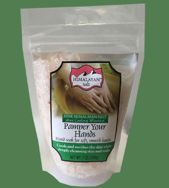 Himalayan Salt Pamper your hands plus cooling Menthol 200gr