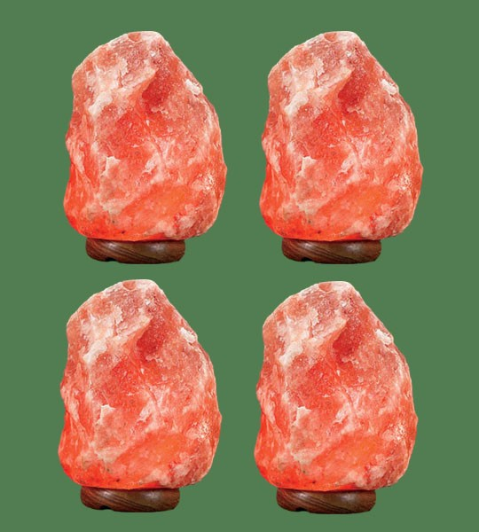 Himalayan Salt Lamp Natural Pink Small 4 units (10-12 lbs each)