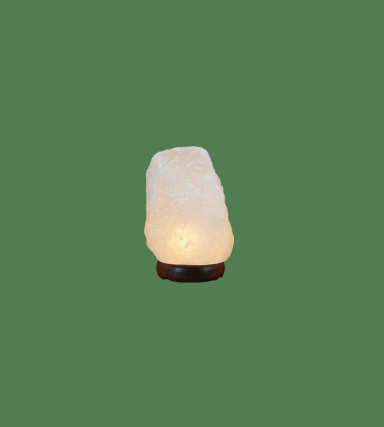 Himalayan Salt Lamp Natural White Micro (3-5 lbs each)