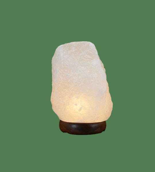 Himalayan Salt Lamp Natural White Medium II (16-22 lbs each)