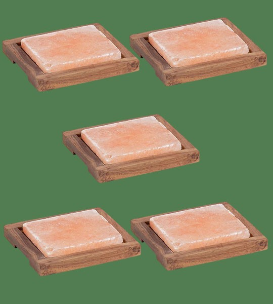 Himalayan Salt Plank Small with holder 5 units