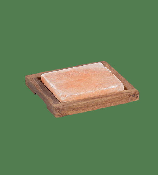 Himalayan Salt Plank Small with holder