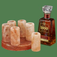 Himalayan Salt Small Tequila shot glass 6 units