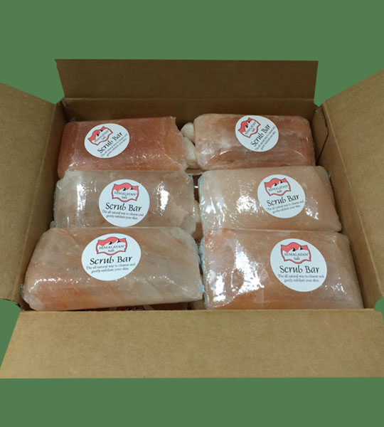 Himalayan Salt Scrub bar Rectangle 24 units