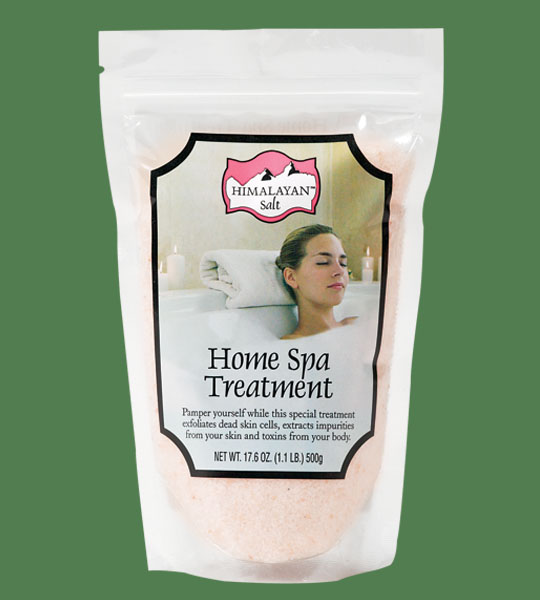 Himalayan Bath Salt Pink Unscented 500g