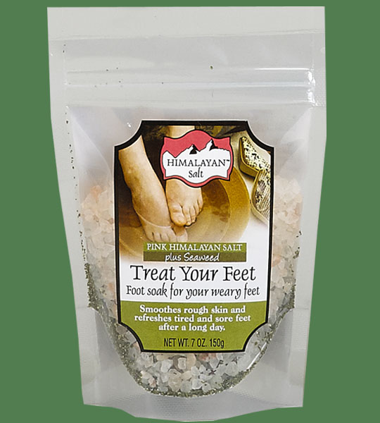 Himalayan Salt Treat your feet plus seaweed 200g