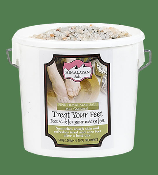Himalayan Salt Treat your feet plus Seaweed 25lb