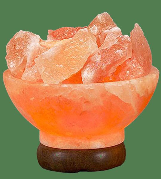 Himalayan Salt Lamp Shaped Pink Pyramid