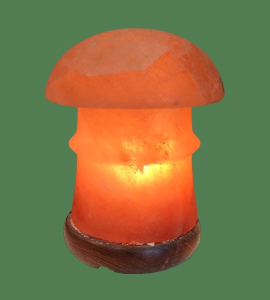Himalayan Salt Lamp Shaped Pink Pagoda