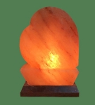 Himalayan Salt Lamp Shaped Pink Heart