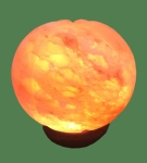 Himalayan Salt Lamp Shaped Pink Pumpkin