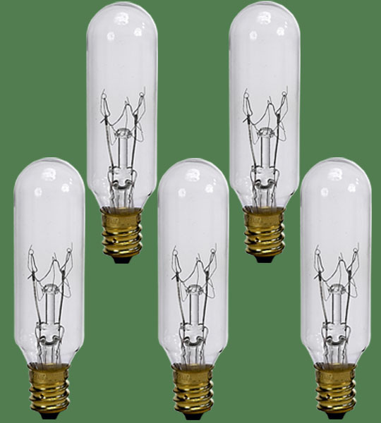 Replacement Bulb 15W 5 pcs