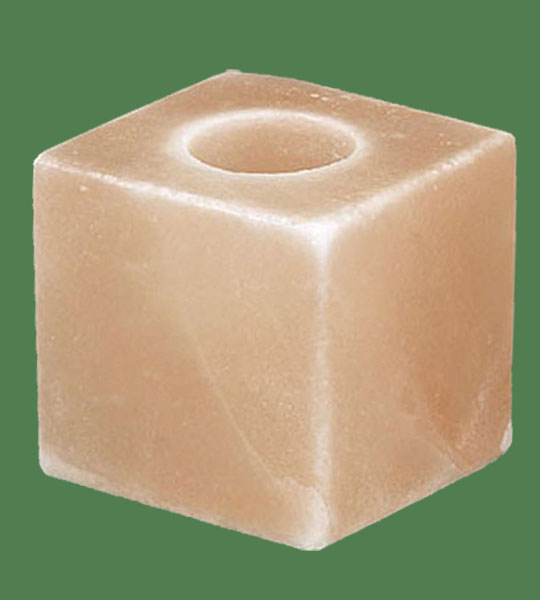 Himalayan Salt Votive candle holder Cube