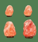 Himalayan Salt Lamp 2 Micro + 1 Mini + 1 Small