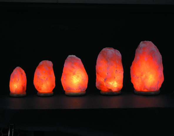 size chart of himalayan salt lamps and guides to choose