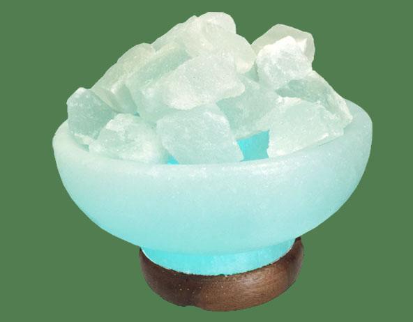 How can we make a blue Himalayan Salt Lamp?