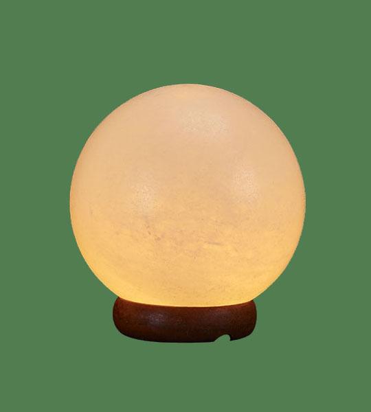 Himalayan Salt Lamp White Sphere 76e5e7f0e